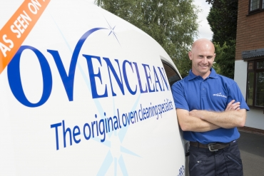 ovenclean man with van