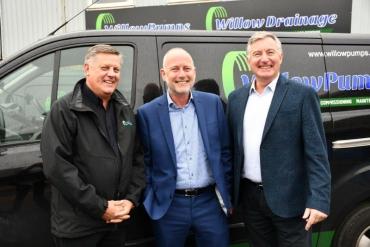 Stephen Hemsley, Peter Molloy and Ian Lawrence